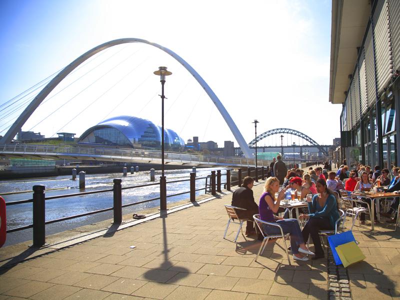 Newcastle und Englands Nordosten