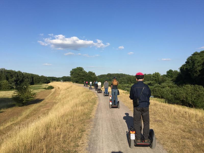 Lippe- und Hansetour: Mit dem Segway durch Dorsten