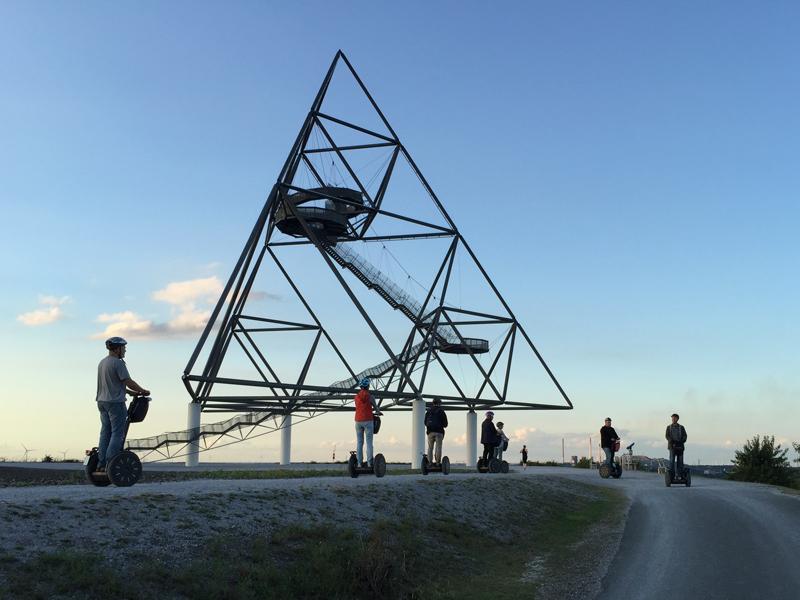 Zwei-Halden-Tour mit dem Segway in Bottrop