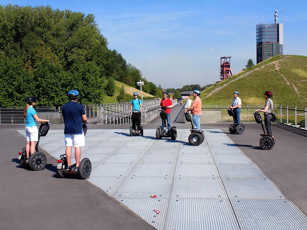 Touren mit dem Segway im Nordsternpark Gelsenkirchen