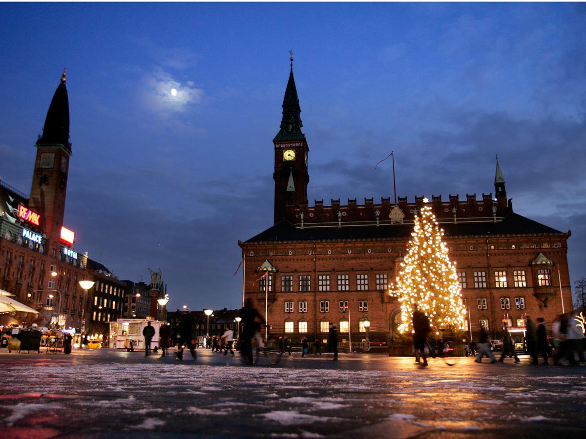 Weihnachtliches Kopenhagen