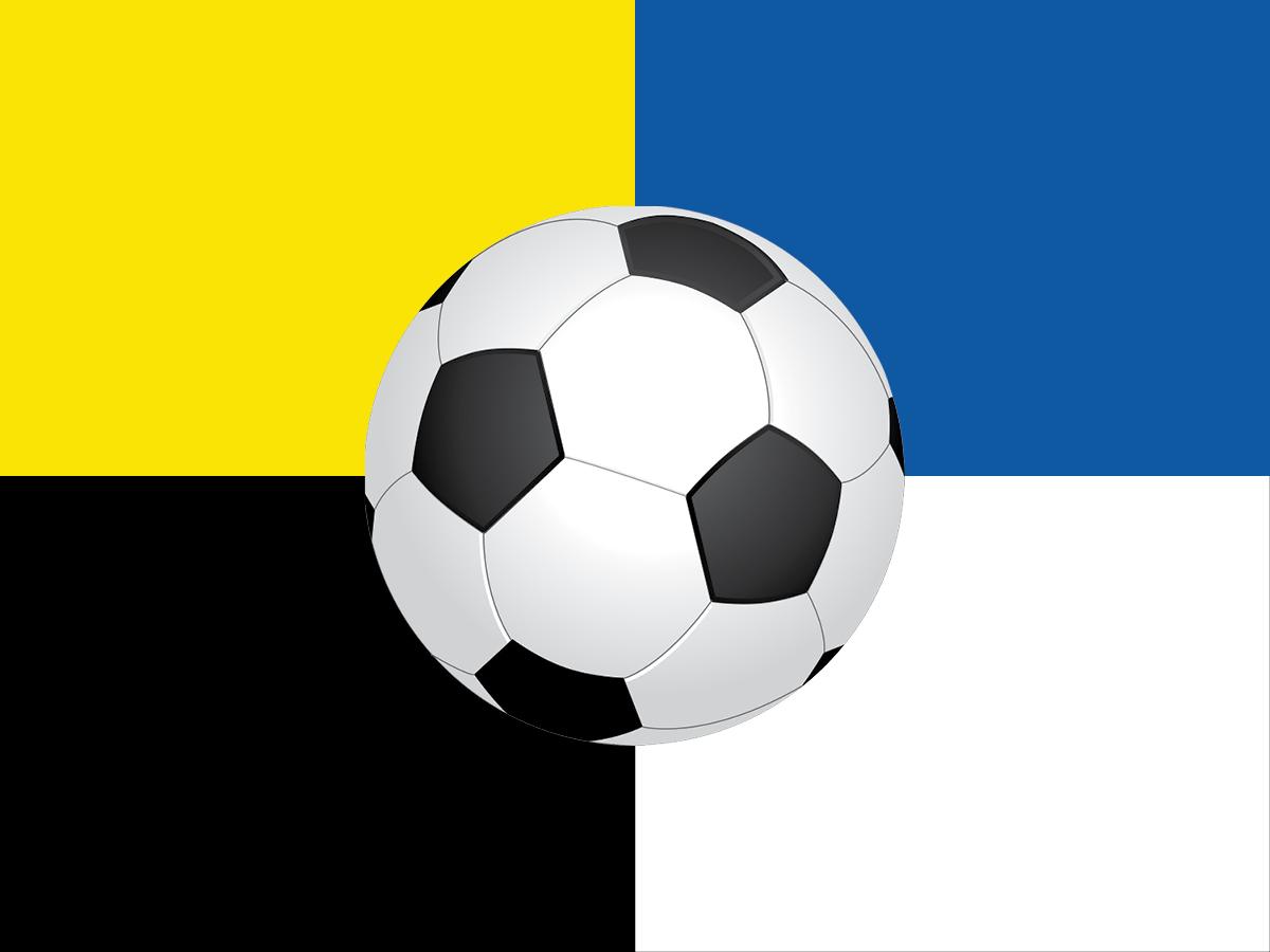 gelb schwarz blau weiss Ball 1200_900